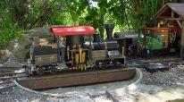 Shay mit T-Boiler  Konstruktion des Chassis von Beat Hadorn, Maschine und Kessel von mir  Ausgerüstet mit RC  Spectrum 2,4 GHz   Keramikbrenner