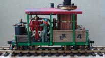 Class A 14 tons Climax mit vertikalem Boiler  Eigenkonstruktion  Maschinentechnik und Antrieb wie  3